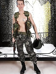 Staxus - Uniforms: Horny Army Boy Gives And Takes Plenty Of Rock Hard Inches From A Grateful Civilian!