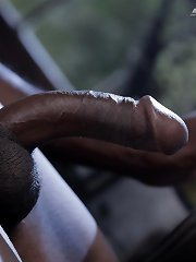 Kinky Little White Drug-Runner Gets Stuffed By A Big Black Dominican Cock!